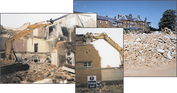 Some of the demolition projects that Cole Demolition has undertaken