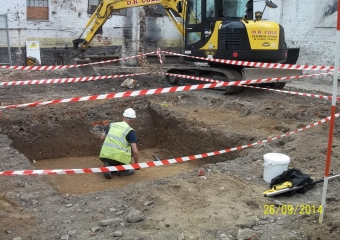 Archaeological assistance, King Street, Norwich - 2014