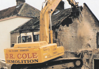 Emergency Demolition - Magdalen Gate - Norwich - 2002