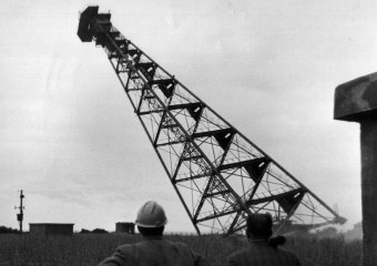 Radar Pylon - North Norfolk - 1969