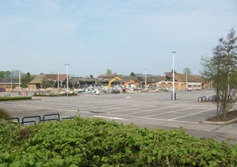 Sainsbury's supermarket in Colchester - 2011