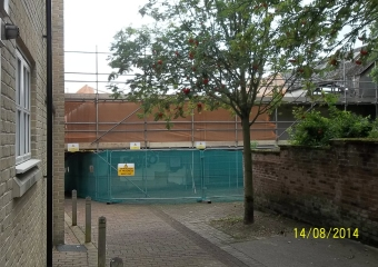 Development, St Julian's Alley, Noriwch - 2014